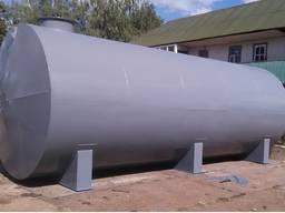 Нержавеющая емкость для воды объемом от 0,5 до 50 м3