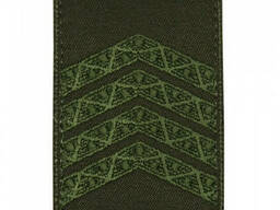 Погон на липучке / муфте нового образца Старший сержант (олива)