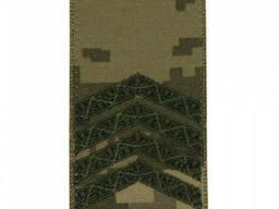 Погон на липучке / муфте нового образца Старший сержант (ММ-14)