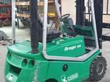 Погрузчик дизельный ВТ-Toyota CBD20 на складе в Киеве - фото 3