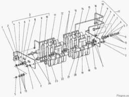 Погрузчик ЕВ 687. Пусковой резистор