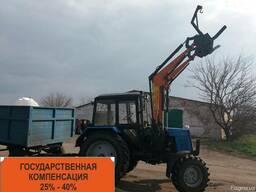 Погрузчик Фронтальный Быстросъёмный НТ-4М КУН на МТЗ