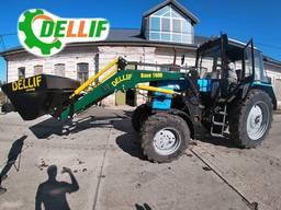 Погрузчик на трактор МТЗ Dellif Base 1600 с ковшом 1.6 м