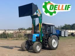 Навесной фронтальный погрузчик МТЗ КУН Dellif Light 1200