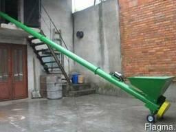 Погрузчик шнековый зерновой 7 метров; 3.0кВт, 380В, 12 т/чac