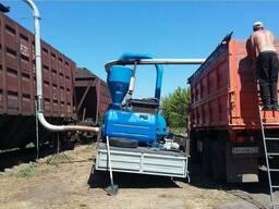 Погрузка и разгрузка зерна ЖД-вагоны по Украине