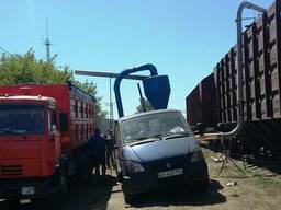 Погрузка и разгрузка зерна ЖД-вагоны по Украине - фото 5