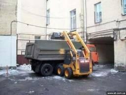 Расчистка снега Киев. Уборка льда. Погрузка Киев.
