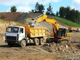 Продажа чернозема, глины, суглинков, песка, жерствы