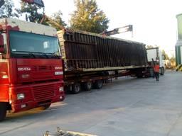 Погрузка, перевозка, такелаж крупногабаритных грузов.