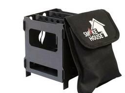 Походная печь щепочница Smoke House