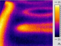 Поиск проблем теплых полов – Тепловизором.