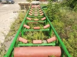 Поизводство конвейера вибросито бункера линии для рассева