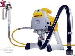 Покраска аппаратом безвоздушного распыления