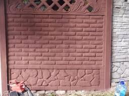 Покраска еврозаборов, гаражей