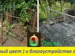 Покраска ограды и памятника на кладбищах в Днепре - фото 2