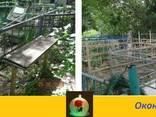 Покраска ограды и памятника на кладбищах в Днепре - фото 5