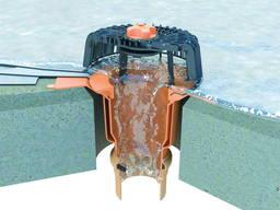 Покрівельні воронки та аксесуари водовідведення