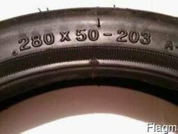 Покрышка 280х50-203 на детскую коляску Geoby.
