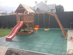 Покрытие для детской площадки 50мм