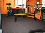 Покрытие для спортивных, тренажерных, тренеровочных залов
