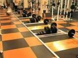 Покрытие для тренажерного зала и зоны тяжелой атлетики - photo 1