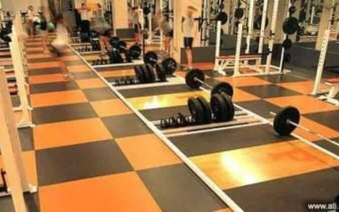 Покрытие для тренажерного зала и зоны тяжелой атлетики