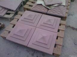 Покрытия (дашики) для столба, забора из бетона