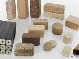 Покупаем древесные топливные брикеты RUF, Pini-Kay