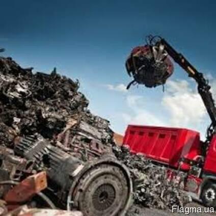 Покупаем лом чёрных и цветных металлов металлолом прием медь
