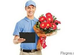 Покупка и доставка цветов, букетов, подарков
