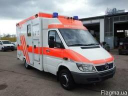 Покупка и легализация автомобилей скорой помощи из Европы