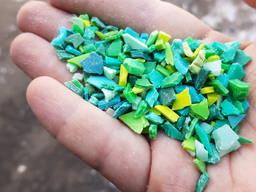 Полиэтилен литьевой зеленый