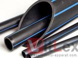 Полиэтиленовая труба ПЭ -100 500 мм SDR 7,4. Трубы ПЭ ПНД - фото 1