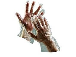 Полиэтиленовые перчатки 0018