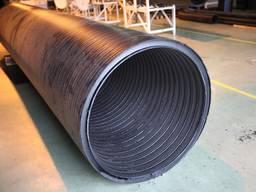 Полиэтиленовые спиральновитые безнапорные трубы Д-2400/2590