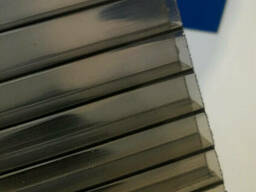 Поликарбонат - сотовый бронза прозрачный 8 мм лист...