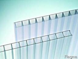 Поликарбонат сотовый SMART UV 10мм 2, 1*6м (Европа)прозрачный