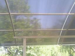 Поликарбонатный лист для навеса. 6. 0х2. 1м. 8 мм. Донецк