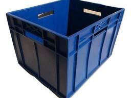 Ящик сплошной для молочных и сыпучих продуктов 425x345x283