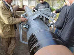 Полимерно-битумная изоляция труб холодного типа