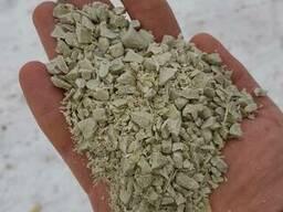 Полипропилен серый дробленый