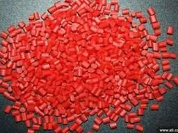 Полипропилен вторичный красный