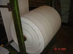 Полипропиленовая ткань (рукав / полотно) - полуфабрикат.