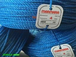 Полипропиленовая веревка Marmara 4, 0 мм, бухта 200 м