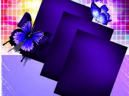 Полистирол фиолетовый