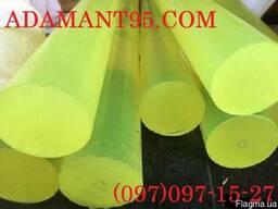 Полиуретан, стержни, длина 1000 мм, диаметр 40-100 мм.