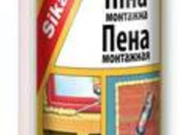 Полиуретановая бытовая монтажная пена Sika Boom -W, 850мл.