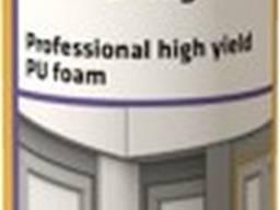 Полиуретановая саморасширяющаяся пена с большим выходом SikaBoom -590 High Yield, 870 мл