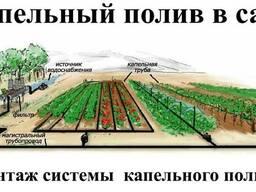 Полив садов и виноградников